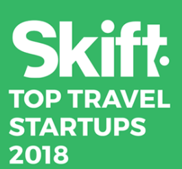 We made it into Skift's top 20 travel startups to watch in 2018!