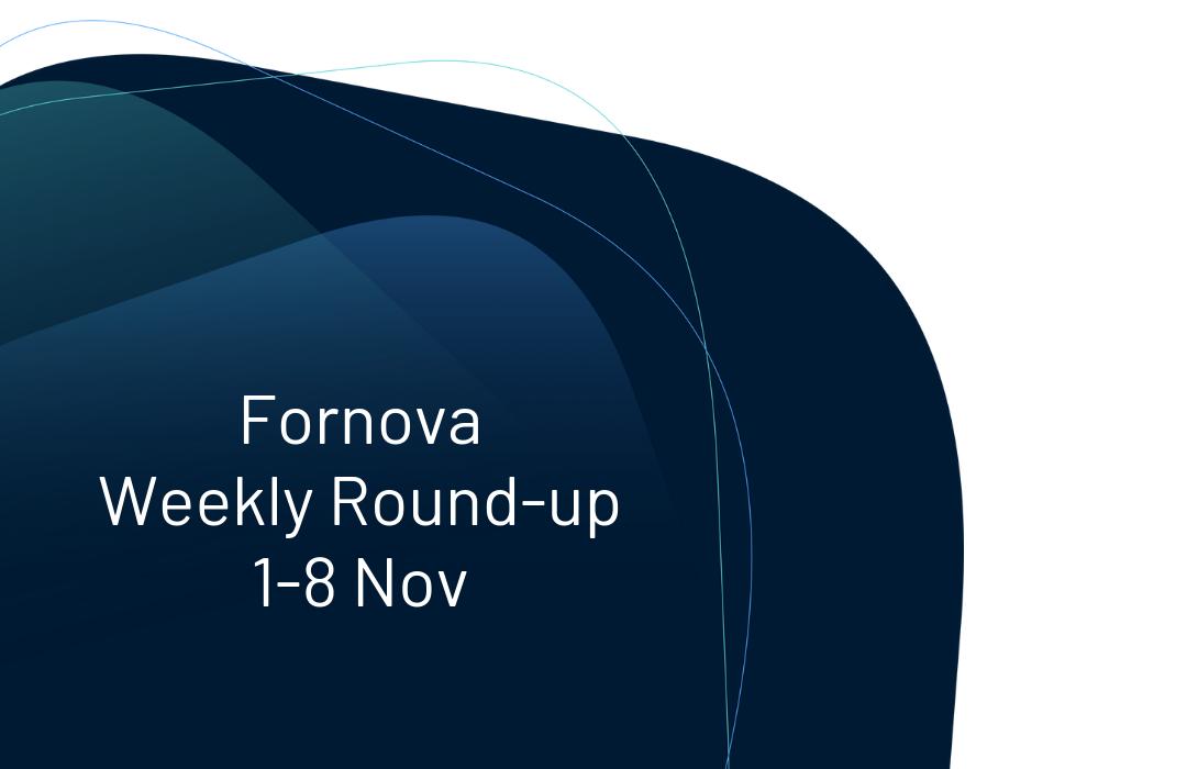 Weekly Round-up 1-8 Nov