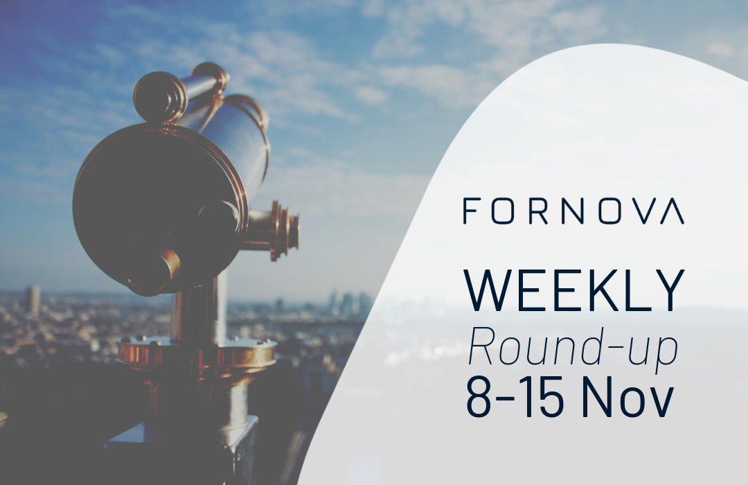 Weekly Round-up 8-15 Nov